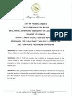 Mayor Romero Proclamation 5-15-20