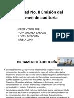 DICTAMEN DE AUDITORÍA