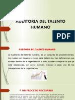 AUDITORIA DEL TALENTO HUMANO