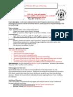 PHIL 310 supplemental syllabus richmond
