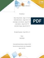 Unidad 1, 2 y 3  Fase 5 -Trabajo colaborativo