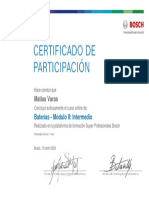 Baterías - Módulo II Intermedio_Certificado