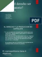 Presentación sociologia juridica