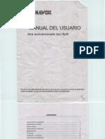 Aire Acondicionado Panavox Manual