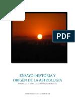 Ensayo Historia y Origenes de la Astrologia - Clase I - Gerardo Naranjo (2)