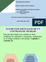 ACTIVIDAD 8 LEGISLACION LABORAL