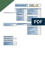 Reporte Mensual de Disponibilidad y Operacion FIME