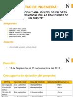PRESENTACIÓN DEL PUENTE DE ARMADURA