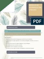 MODELOS DE DESARROLLO DEL LENGUAJE unidad 3  .pptx