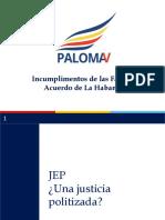 Debate Farc Paloma