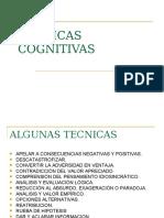 TECNICAS COGNITIVAS.ppt