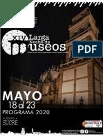Programa larga Noche de Museos