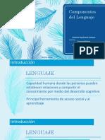 componentes del lenguaje completa