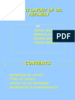 Plant Layout of Oil Refinery