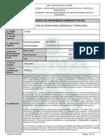 CONTABILIZACION DE OPERACIONES COMERCIALES Y FINANCIERAS