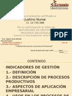 Certificado de INDICADORES DE GESTION
