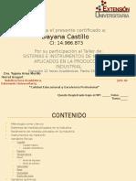 Certificado de Instrumentación Industrial
