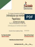 CERTIFICADO TALLER DE EXTENSIÓN.pptx