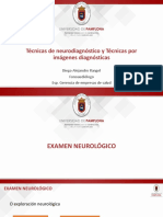 Tecnicas de neurodiagnóstico
