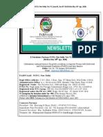Parivaar Newsletter