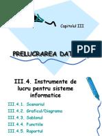 3.3.Prelucrarea Datelor - Sisteme Informatice