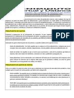 PRESUPUESTOS DE GASTOS UNIMINUTO (1)