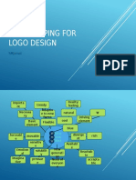 Mind mapping for logo design