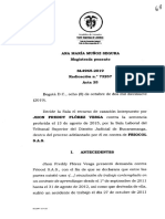 Culpa patronal en contrato de aprendizaje. SL4965-2019.