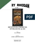P-280 - Detetives Cósmicos Entram em Ação - H. G. Ewers.doc