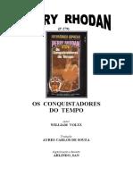P-279 - Os Conquistadores do Tempo - William Voltz.doc