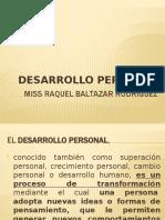 DESARROLLO PERSONAL Y VALORES