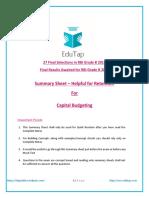 attachment_Summary_-_Capital_Budgeting