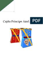 Cajita Principe Azul Marino