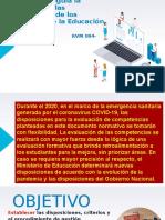PPT - EVALAUCION DE LAS COMPETENCIA DE LOS ESTUDIANTES DE EB - 2020 -RVM_094-2020-MINEDU.