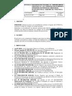 PROTOCOLO PARA MOVILIZAR PERSONAL DE COMPAÑIA Y CONTRATAS