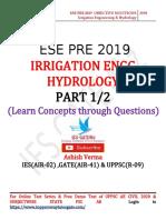 ESE PRE 2019 IRRIGATION