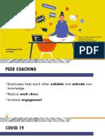 May 9-Peer Coaching