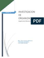 Investigacion de las organizaciones