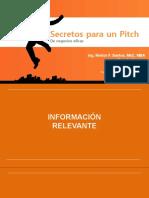 Secretos para presentar un Pitch de negocios