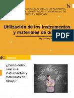 CLASE 04 - Utilización de los instrumentos y materiales de dibujo