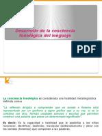 BASE TEÓRICA DE CONCIENCIA FONOLÓGICA