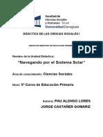 Didáctica de Las Ciencias Sociales III