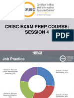 Session 4 - CRISC Exam Prep Course - Domain 4 Risk and Control Monitoring and Reporting