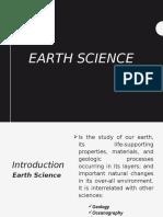 Earth scienceppt. GRADE 11