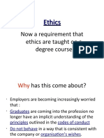 Ethics - Part 1 of 2
