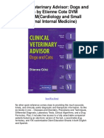 Clinical Veterinary Advisor Dogs and Cats by Etienne Cote DVMDACVIMCardiology and Small Animal Internal Medicine - 5 Star Review