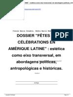 Celebrations en amerique latine