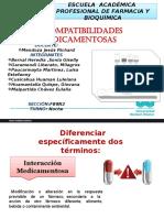INCOMPATIBILIDAD DE FARMACOS CON AINES