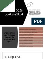NOM-025-SSA2-2014