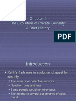 The Evolution of Private Security